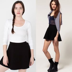 NWT American Apparel Denim Circle Skirt